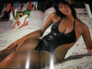 GORO1979年 浅野ゆう子水着グラビア
