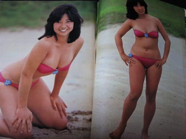 宮崎美子 週刊プレイボーイ1980年