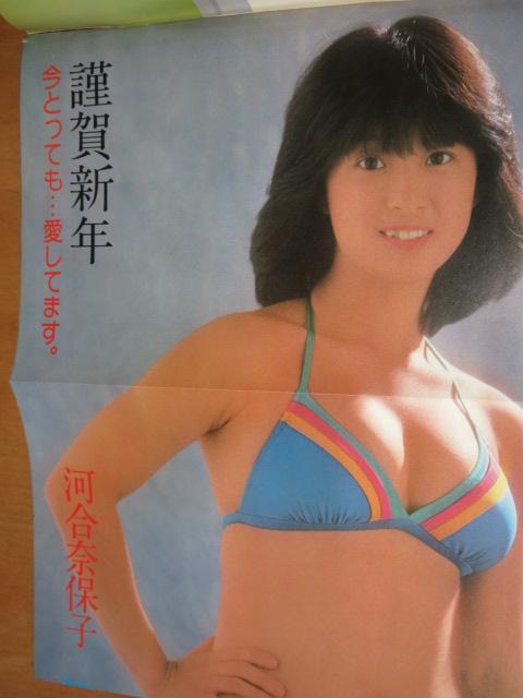 河合奈保子 水着 週刊プレイボーイ1981年