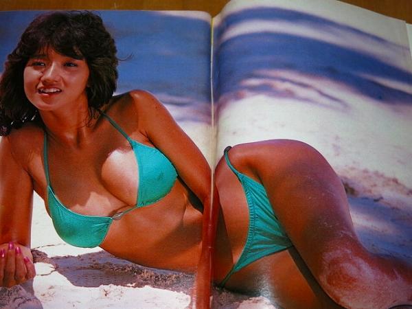 可愛かずみ 週刊プレイボーイ1984年