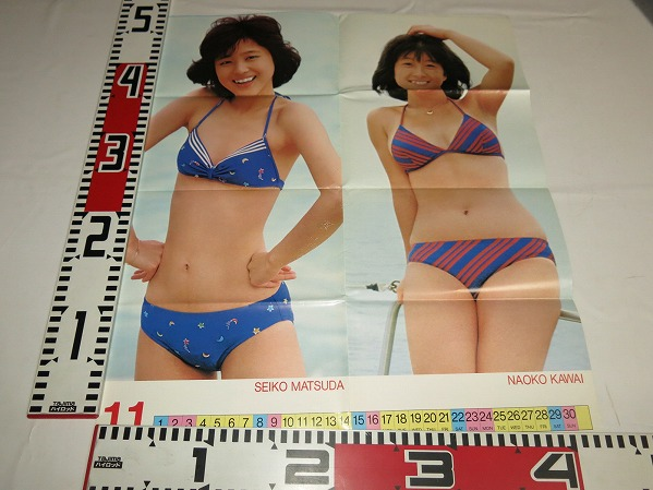 松田聖子・河合奈保子ポスター