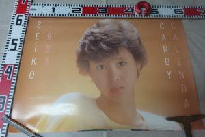 松田聖子カレンダー1983年
