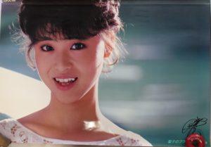 松田聖子ブラザーミシンポスター