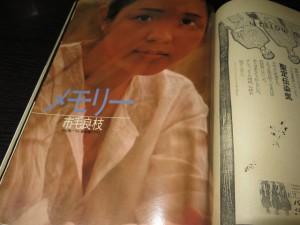 GORO1980年6号 市毛良枝表紙