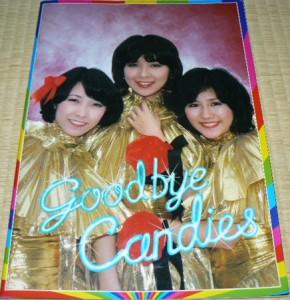 キャンディーズパンフレット