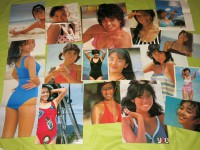 昭和アイドル水着ポスター