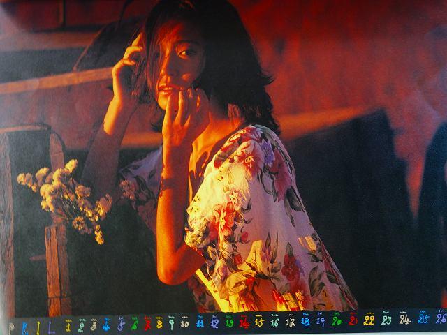 中森明菜カレンダーSanta Fe